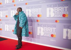 Exclusive Photos Of Burna Boy At The 40th Brite Awards Ceremony