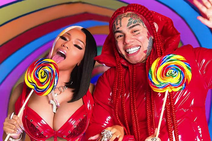 6ix9ine Featuring Nicki Minaj – Trollz