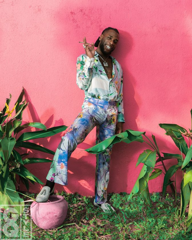 Burna Boy' Features GQ'S Spring/Summer 2020 Issue