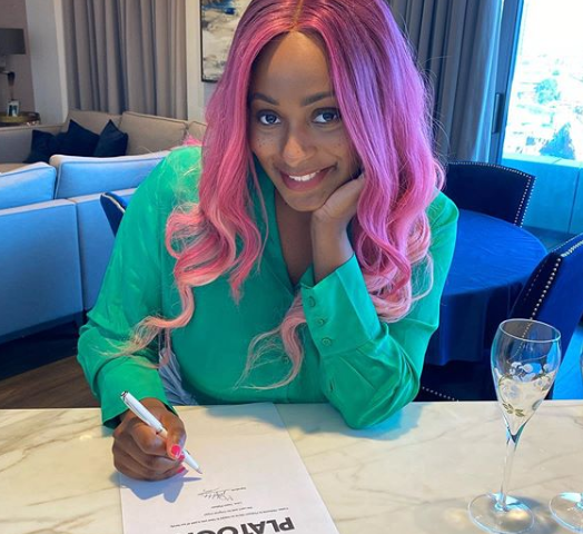 DJ Cuppy Signs Record Deal With Platoon