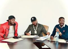 Davido Signs  Deinde, To His Record Label