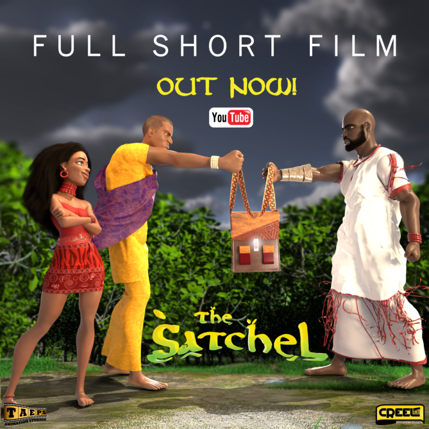 Nissi Launches Stunning New 3D Afro-anime Project ''The Satchel'
