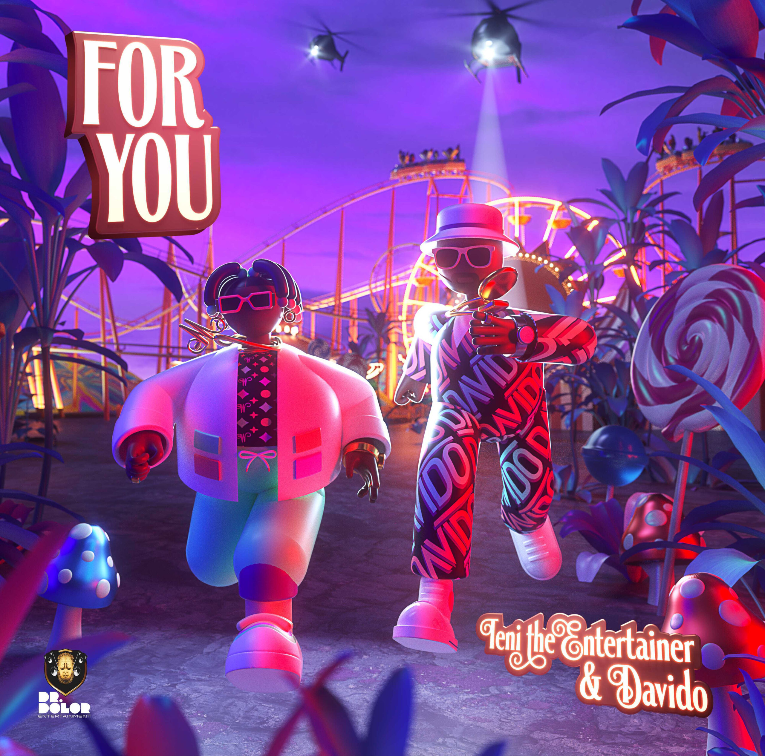 Teni Teams Up With Davido In New Single 'For You'