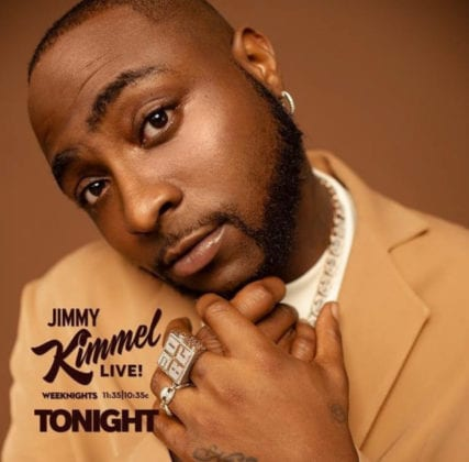 Watch Davido's Live Performance On Jimmy Kimmel's Late Night Show