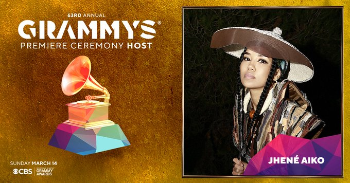 Jhené Aiko to Host Grammys Premiere Ceremony