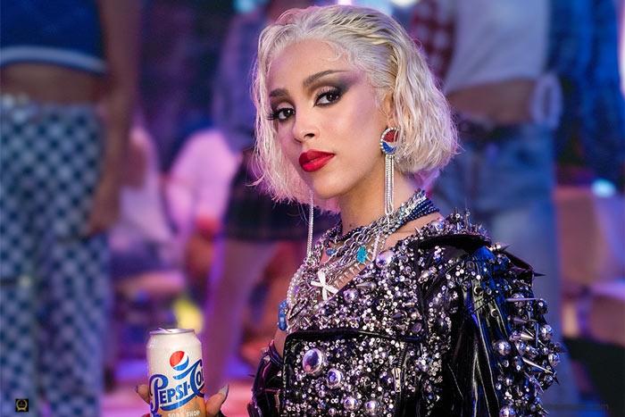 Doja Cat Stars In Pepsi Commercial
