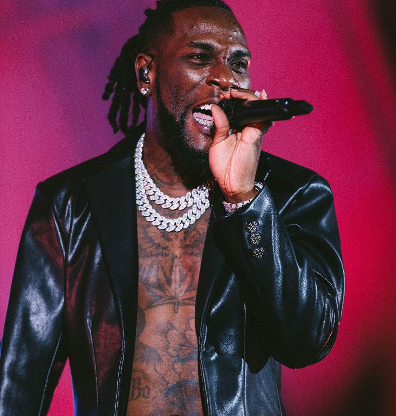 Photos From Burnaboy's LOS Angeles Space Drift Arena Tour